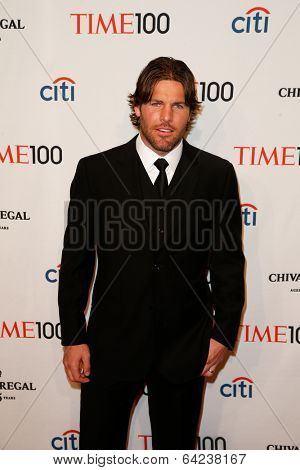 NEW YORK-APR 29: NHL player Mike Fisher attends the Time 100 Gala for the Most Influential People in the World at the Frederick P. Rose Hall at Lincoln Center on April 29, 2014 in New York City.