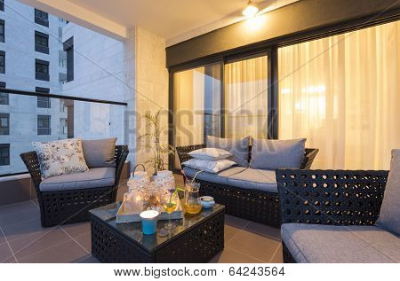 Balcony Interior Design
