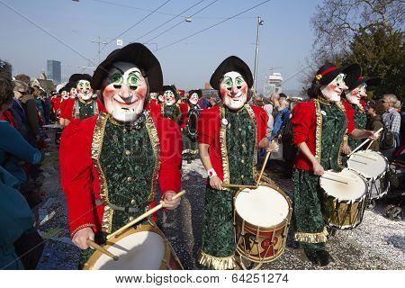 Basel (switzerland) - Carnival 2014