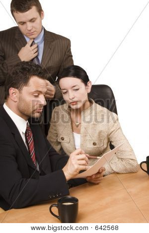 Controlling - Business Team At Work