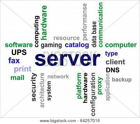 Server - Word Cloud