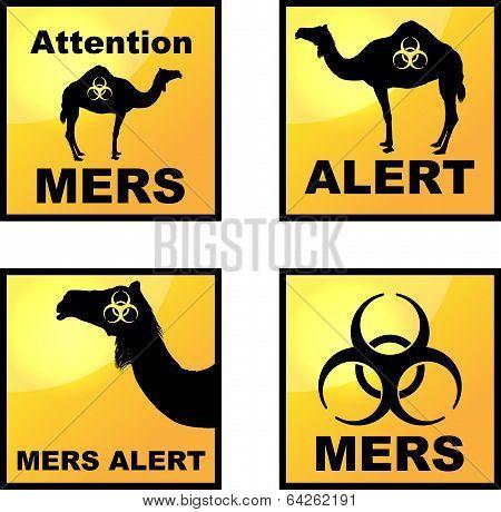 Coronavirus alert icons tags