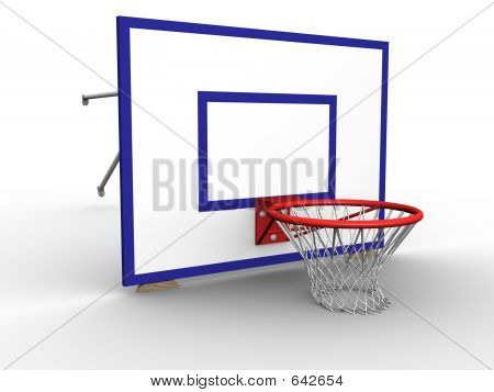 Basket Hoop Ground