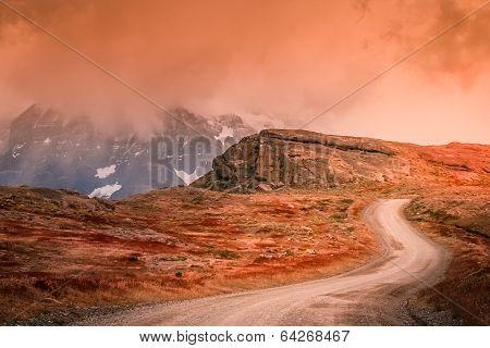 Road to Cuernos del Paine