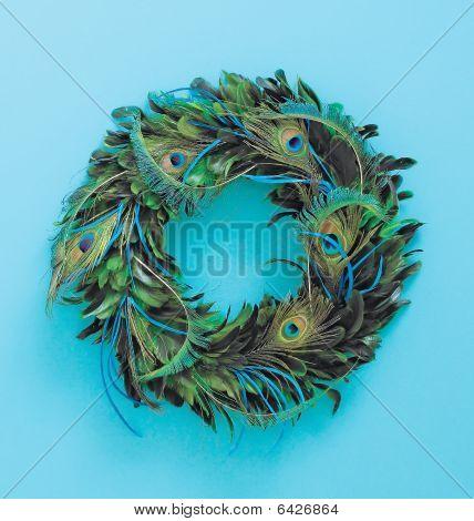 Door Or Room Peacock Feathers