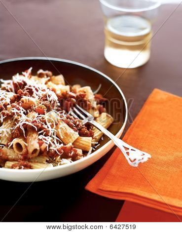 Pasta With Bolognese Sauce, Main Entree