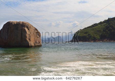 Beach Piratininga Corcovado Niteroi Rio De Janeiro