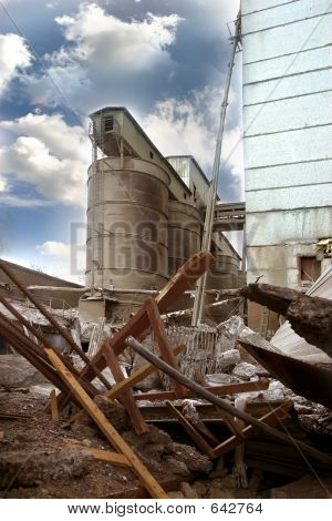 The Destroyed Factory - 1