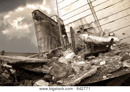 The Destroyed Factory - 2