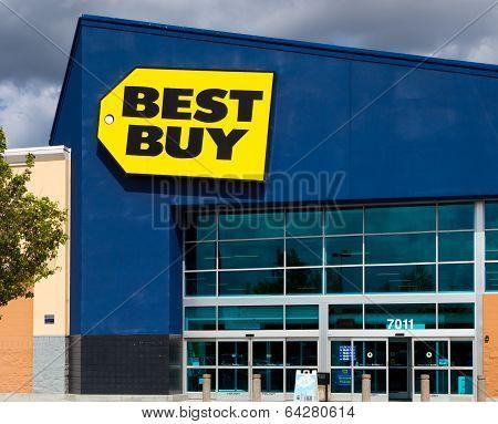 Best Buy Store Front
