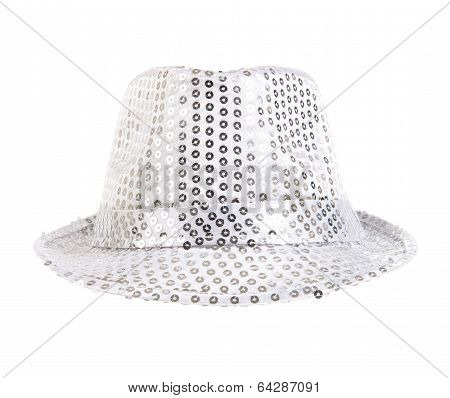 Festively White Hat