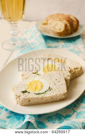 Turkey Meatloaf With Egg