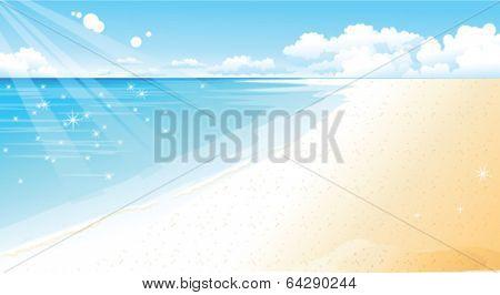 Coastline at Beach