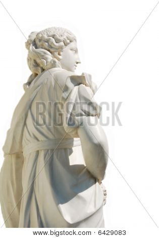 Beautiful Woman Sculpture