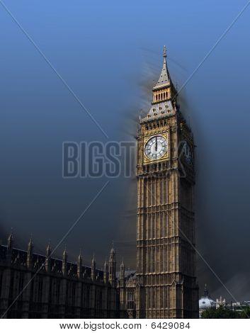 12 o'clock on Big Ben, London