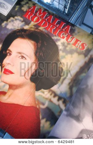 LISBON, PORTUGAL - OCTOBER 9: Fado Singer Amália Rodrigues Exhibition at Electricity Museum October