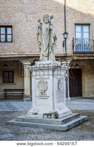 Memorial Burgo de Osma Soria his bishops