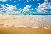 stock photo of hot-weather  - beach and sea - JPG