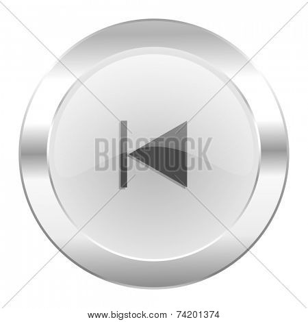 prev chrome web icon isolated