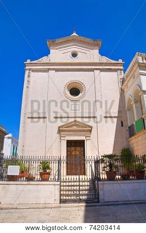 Church of St. Nicola. Fasano. Puglia. Southern Italy.