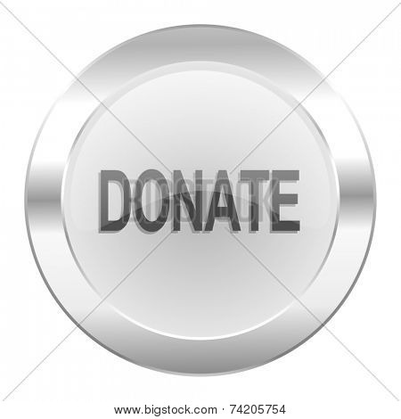 donate chrome web icon isolated
