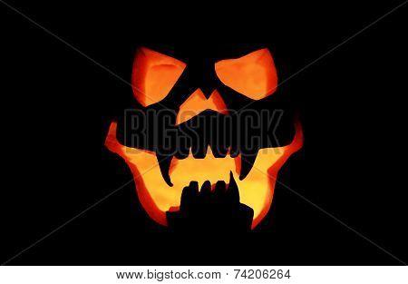 Halloween Pumpkin Mask Lamp