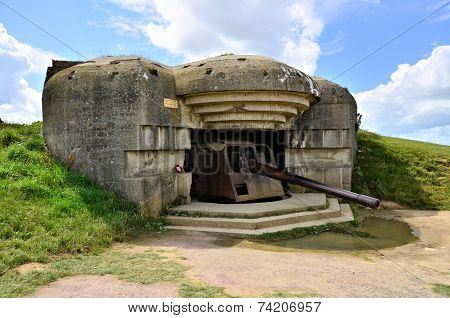 Normandy gun battery