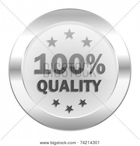 quality chrome web icon isolated