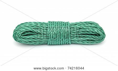 Rope bunched