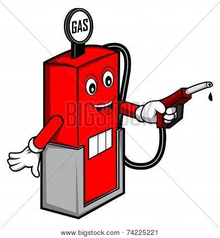 Oil gas cartoon