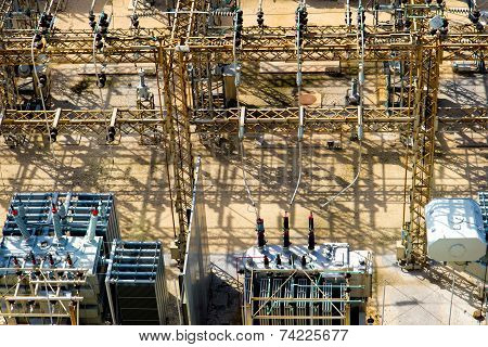 electrical energy and power substation transformers insulators