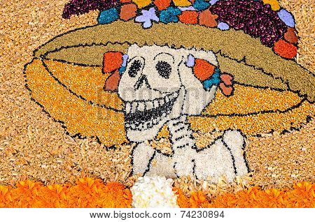 Day Of The Dead Mexican Catrina