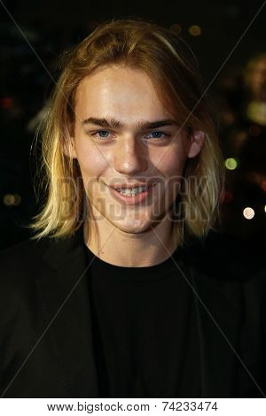 NEW YORK-OCT 16: Model Ton Heukels attends God's Love We Deliver, Golden Heart Awards on October 16, 2014 in New York City.