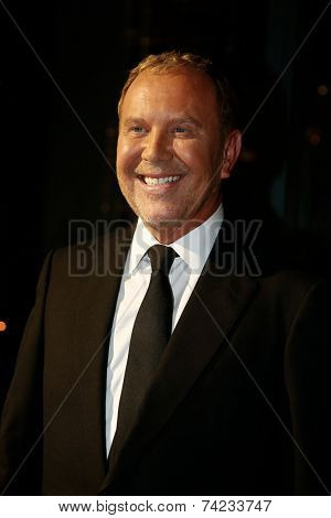 NEW YORK-OCT 16: Designer Michael Kors attends God's Love We Deliver, Golden Heart Awards on October 16, 2014 in New York City.