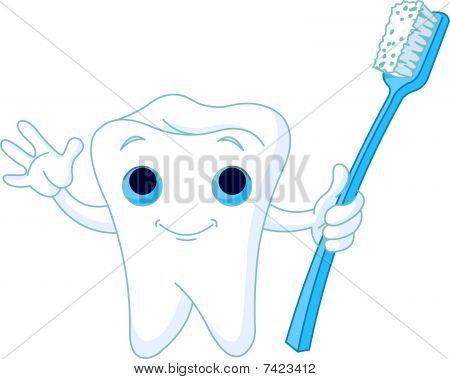 Sorriso cheio de dentes
