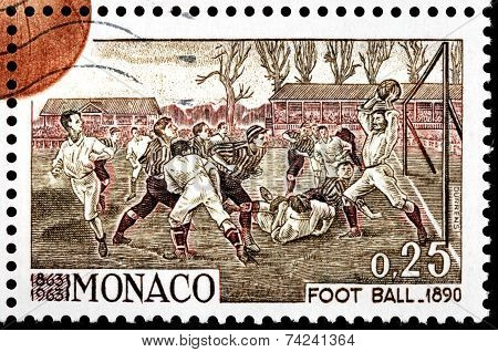Football 1890 Stamp