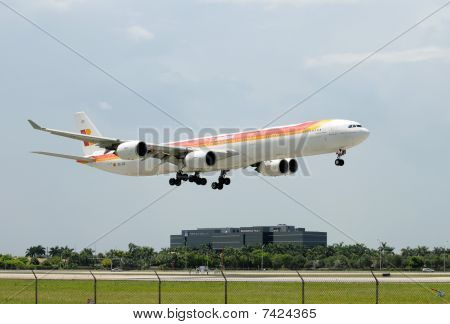 Iberia Flagship Airliner Airbus A-340-600