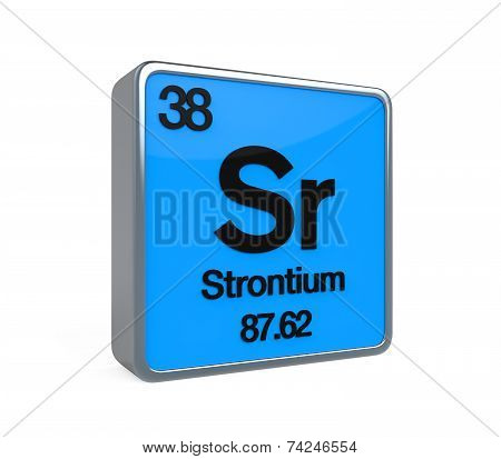 Strontium Element Periodic Table