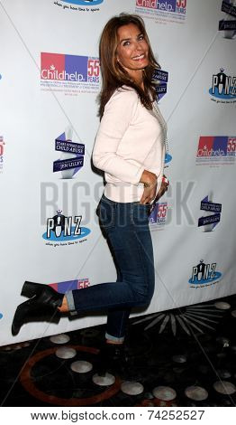LOS ANGELES - OCT 19:  Kristian Alfonso at the First Annual Stars Strike Out Child Abuse event to benefit Childhelp at Pinz Bowling Center on October 19, 2014 in Studio City, CA
