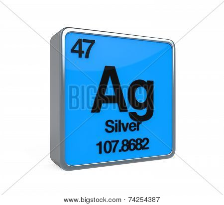 Silver Element Periodic Table
