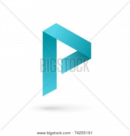 Letter P Logo Icon Design Template Elements