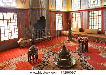 Harem Room In Khan's Palace, Crimea