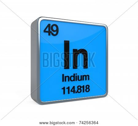 Indium Element Periodic Table