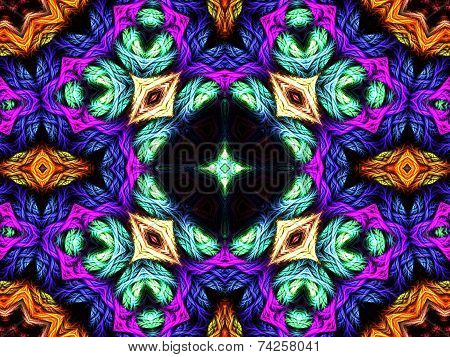 Decorative abstraction pattern