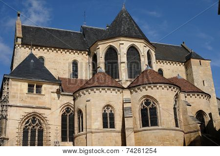 France, Cathedral Saint Maclou In Pontoise