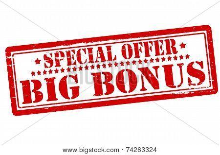 Special Offer Big Bonus