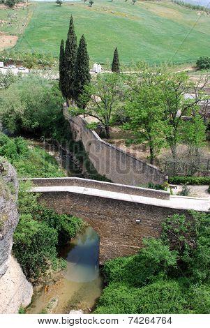 San Miguel bridge, Ronda.
