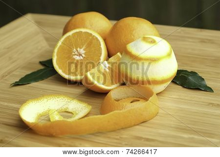 Peeled Oranges
