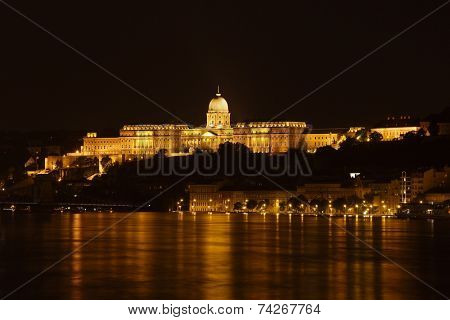 The Castle of Buda in Hungary