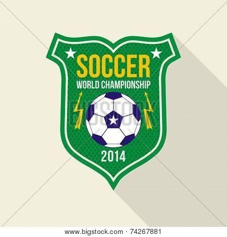 Soccer  World Championship  Emblem